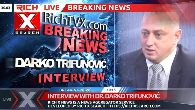 Interview With Dr. Darko Trifunović